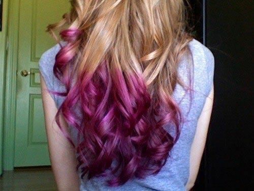 Маски цветные для волос